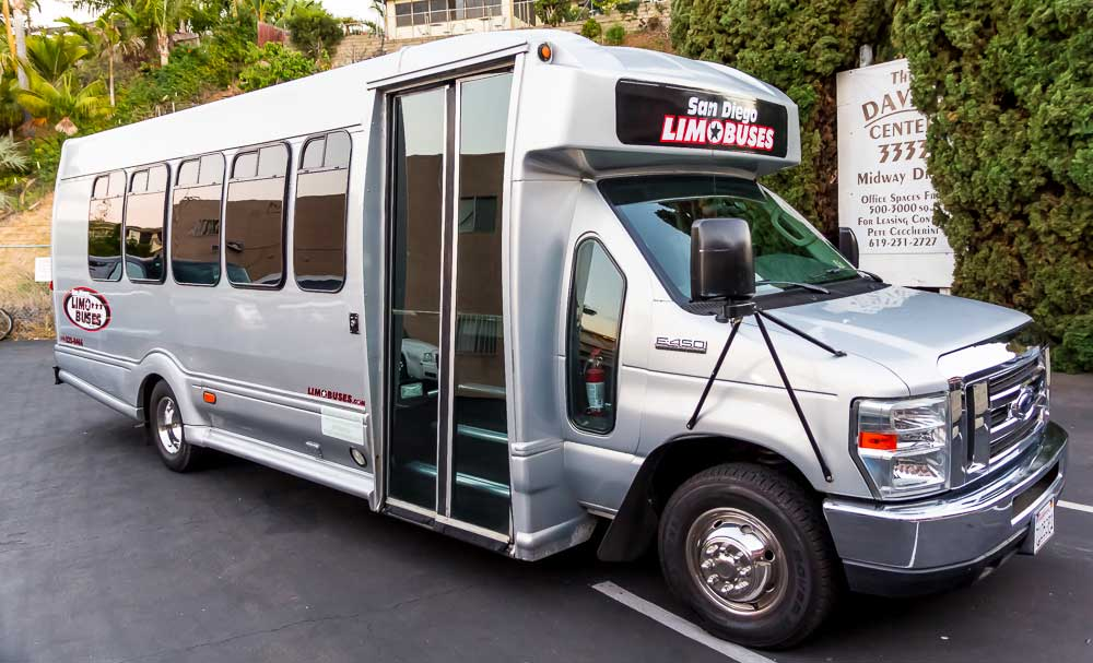 SILVER STAR | Ford | Ford Turtle Top Limo Bus | Ford Turtle Party Bus | Ford Limousine | Charter Bus | Tour Bus | Shuttle Bus | Limo Ford Bus