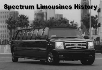 History of Limousine by Spectrum Limousine San Diego